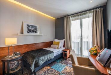 Hotel Stáció Wellness & Conference**** - Standard egyágyas szoba