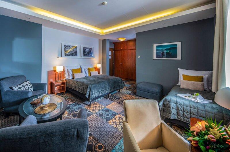 Hotel Stáció Wellness & Conference**** - Standard háromágyas szoba