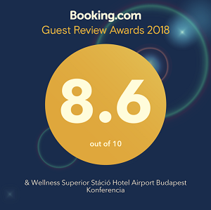 Hotel Stáció Wellness & Conference**** - Booking.com Guest Review Awards 2018