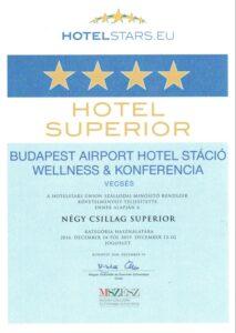 Hotel Stáció Wellness & Conference**** - Hotelstars minősítés