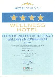 Hotel Stáció Wellness & Conference**** - Hotelstars.eu díj